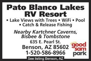Rv Parks In Tombstone Arizona Tombstone Arizona