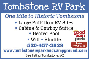 Tombstone arizona rv parks tombstone campgrounds rv camping in tombstone az publicscrutiny Image collections
