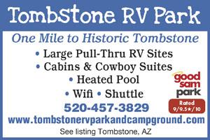 Rv Parks In Benson Arizona Benson Arizona Campgrounds