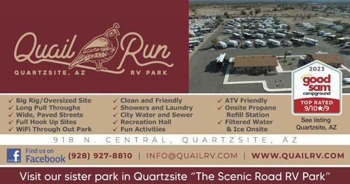 Quail Run RV Park Quartzsite AZ