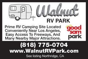 Walnut RV Park Northridge CA