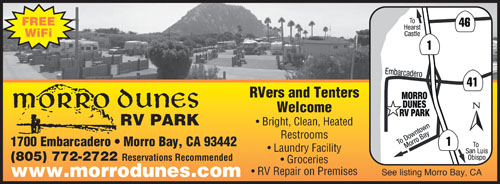 Paso Robles California Rv Parks Paso Robles Campgrounds