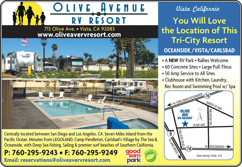 California Snowbird Rv Parks Indian Waters Indian Wells