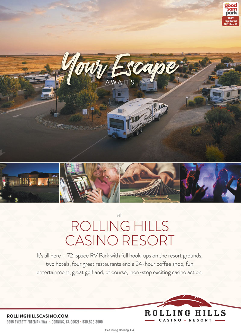 INTERSTATE 5 RV PARK AND CASINO Stay And Play At Rolling Hills Casino Youre Surrounded By Restaurants 18 Hole Championship Golf Course Pet Daycare