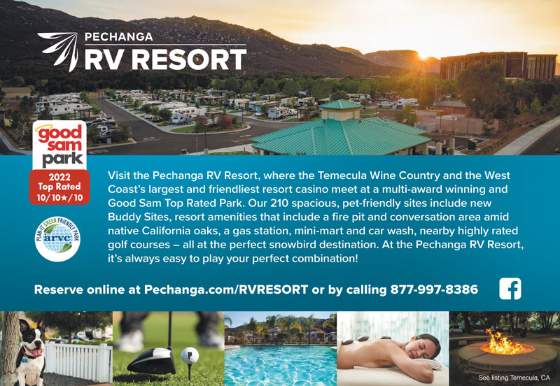 Rv Parks In Temecula California Temecula California