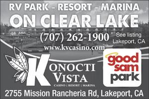 Rv Parks In Lakeport California Lakeport California