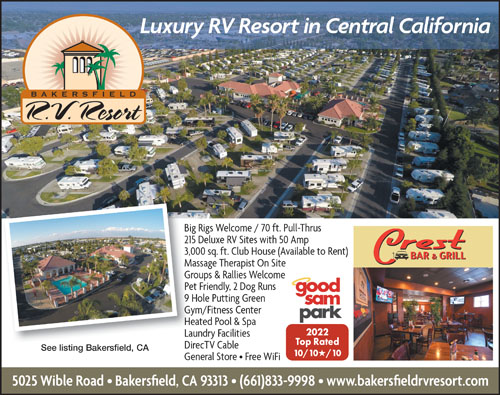 Rv Parks In California California Campgrounds Good Sam