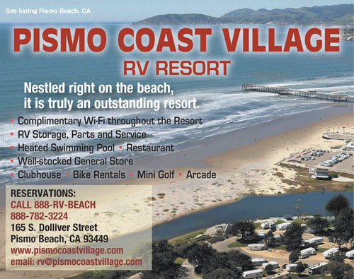 Grover Beach California RV Parks