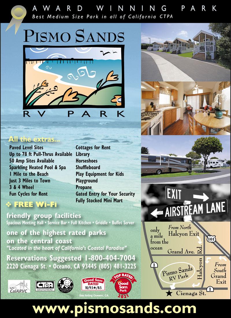 Arroyo Grande California Rv Parks Arroyo Grande