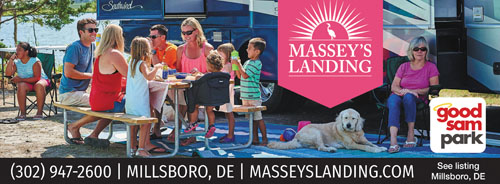 LUXURY IS IN SITE A luxury RV resort in the heart of the DE Seashore.  Beachfront RV and tent sites redefine camping as you know it. Pampered with  the luxury ...