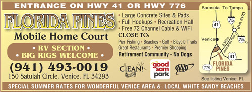 Rv Parks In Nokomis Florida Nokomis Florida Campgrounds