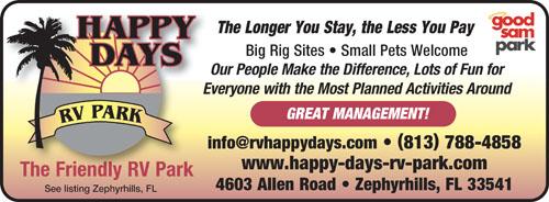Rv Parks In Lakeland Florida Lakeland Florida Campgrounds