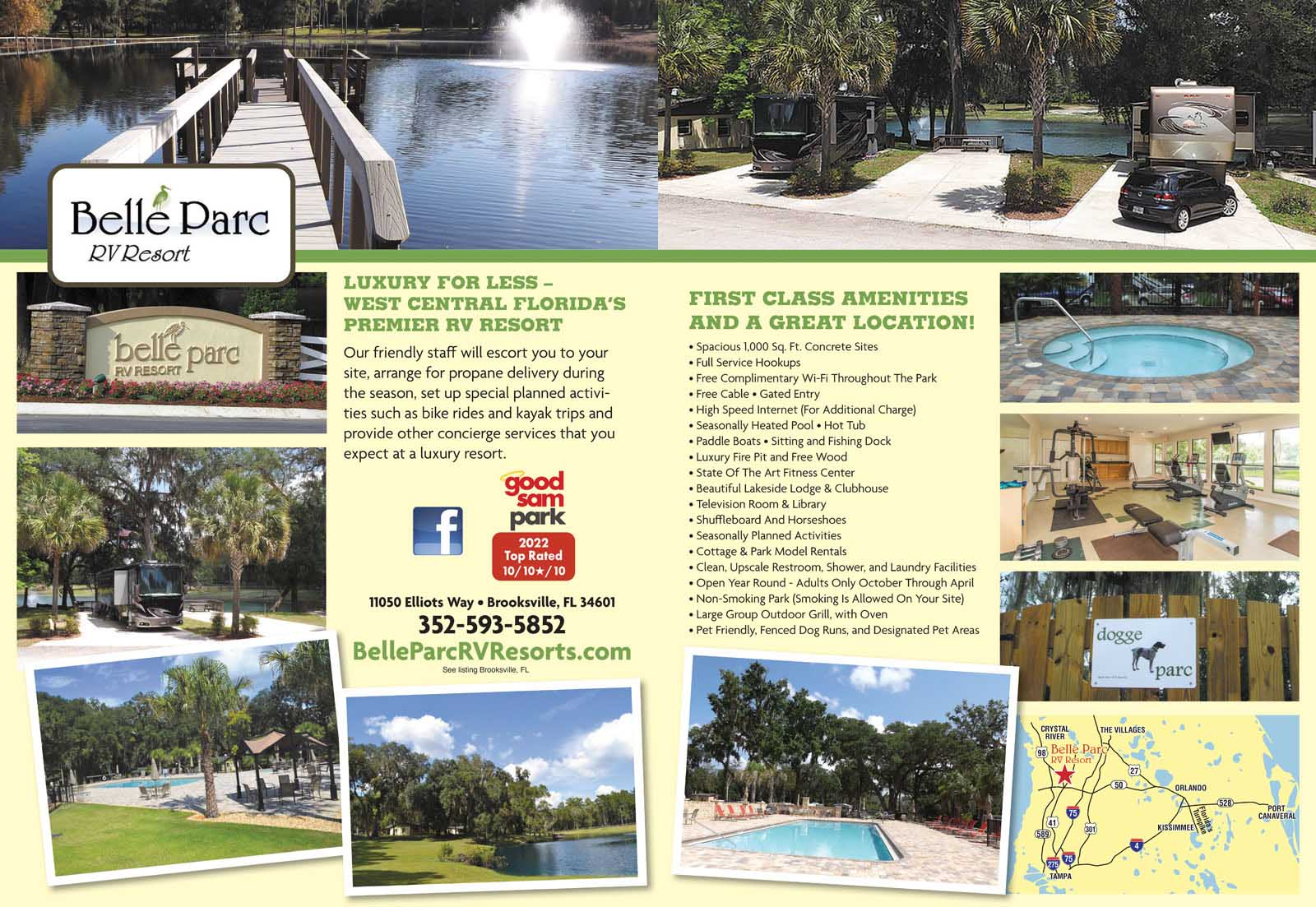 lake buena vista florida rv parks lake buena vista campgrounds