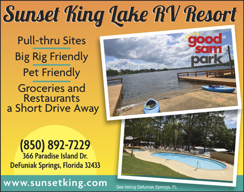 Rv Parks In Defuniak Springs Florida Defuniak Springs