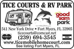 Fort Myers Florida RV Parks