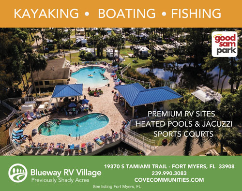 Park In A Natural Florida Setting Many Activities Include Heated Pool On Site Cafe Shuffleboard Dances Or Karaoke Located Between Fort Myers And