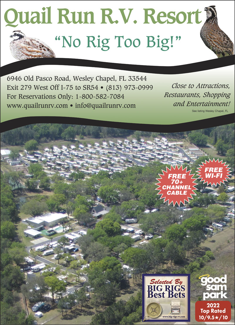 tampa florida rv parks tampa campgrounds rv camping in florida enjoy our rec hall exercise room pool fun activities fabulous shopping restaurants close by new super sized big rig sites