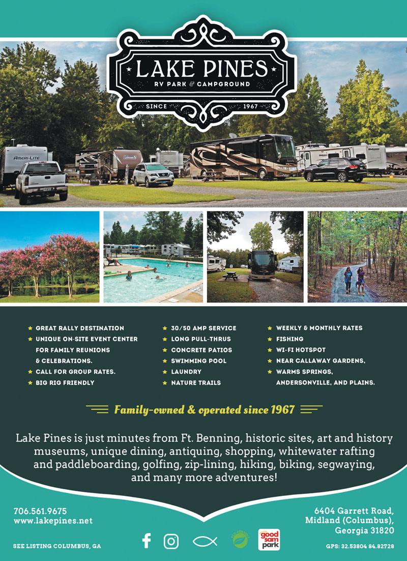Warm Springs Georgia RV Parks