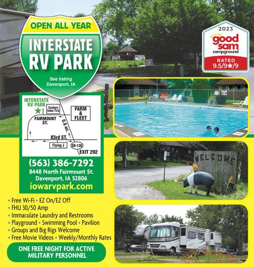 RV Parks in Iowa | Iowa Campgrounds | Good Sam Club