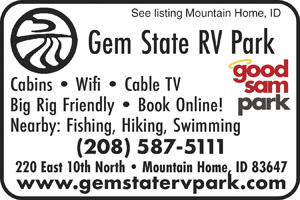 Gem State RV Park Mountain Home ID