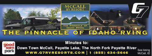 TRULY THE PINNACLE OF IDAHO RVING This Luxurious Mountain Setting Is The Perfect Retreat Ideal Summer Destination For Fishing Hiking