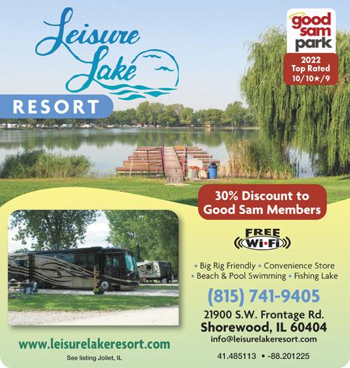 Rv Parks In Joliet Illinois Joliet Illinois Campgrounds