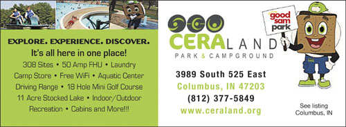 Indiana Rv Parks Campgrounds Rv Camping In Indiana