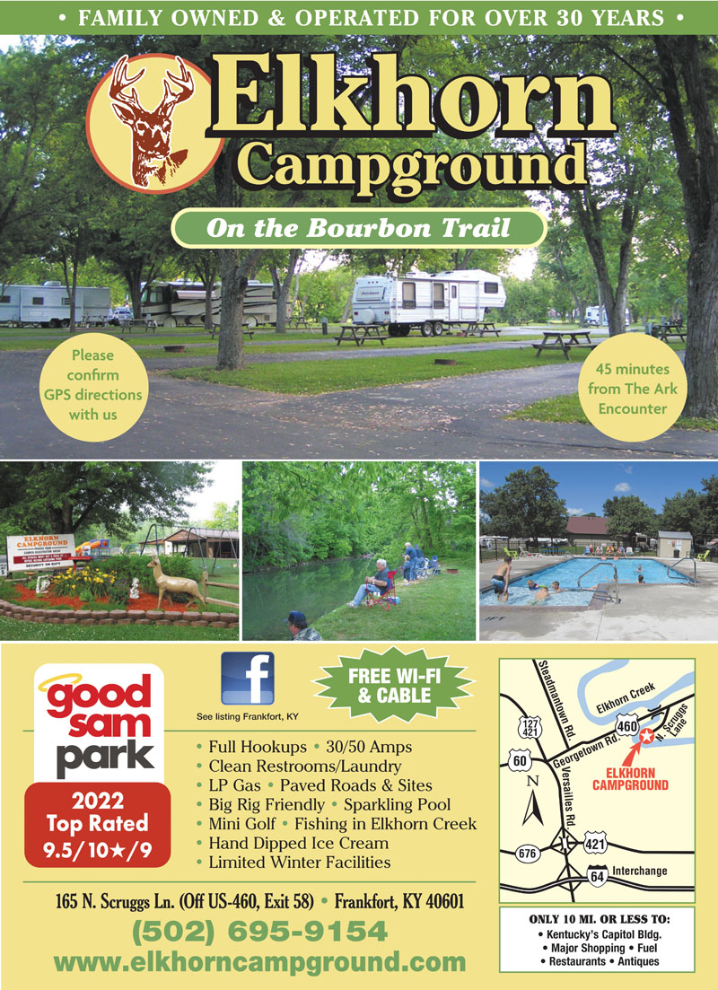 lexington kentucky rv parks lexington campgrounds rv camping