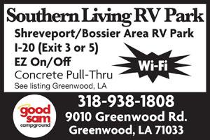 Southern Living RV Park Greenwood LA
