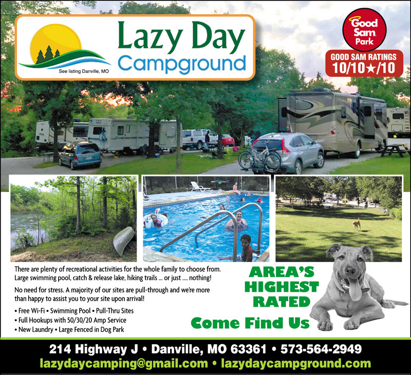 Rv Parks In Missouri Missouri Campgrounds Good Sam Club