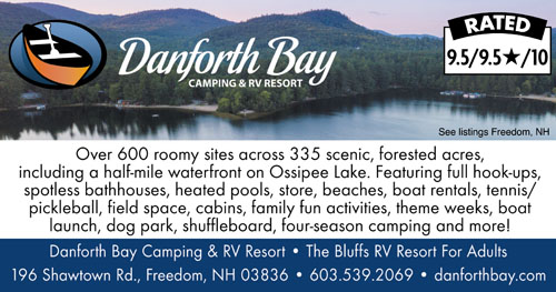 Rv Parks In New Hampshire New Hampshire Campgrounds
