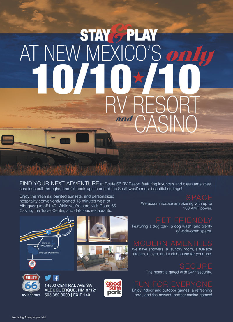 New mexico casino rv parks