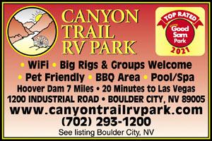 Las Vegas Nevada Rv Parks Las Vegas Campgrounds Rv