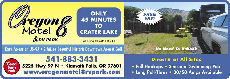 Rv Parks In Klamath Falls Oregon Klamath Falls Oregon