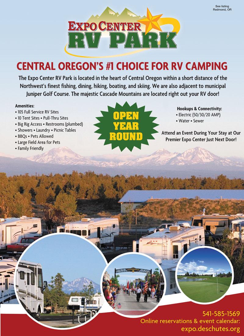 Redmond Oregon RV Parks
