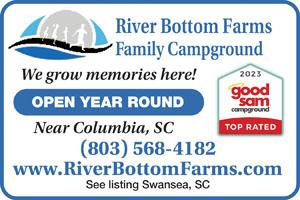 Columbia South Carolina Rv Parks Columbia Campgrounds