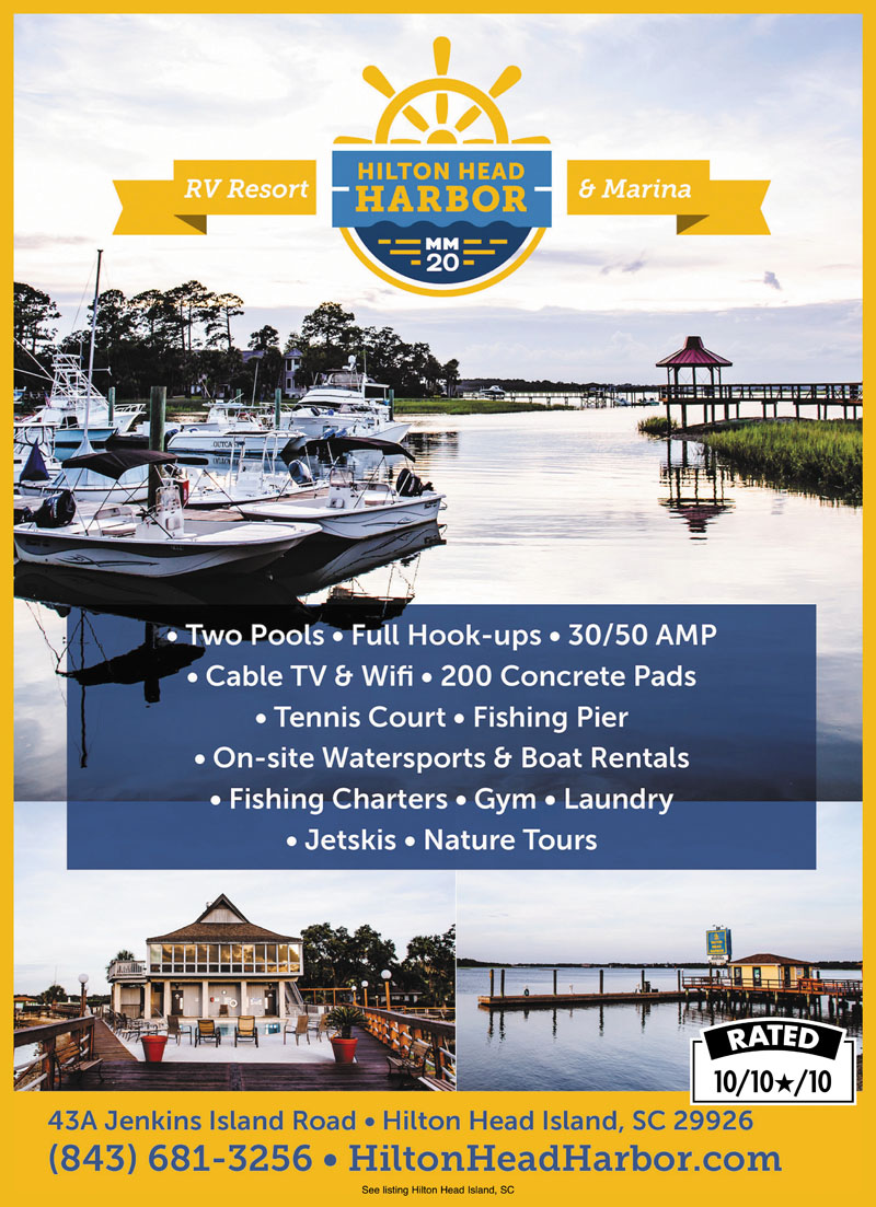 Rv Parks In Beaufort South Carolina Beaufort South