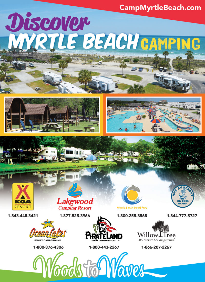 Myrtle Beach South Carolina Rv Parks Myrtle Beach