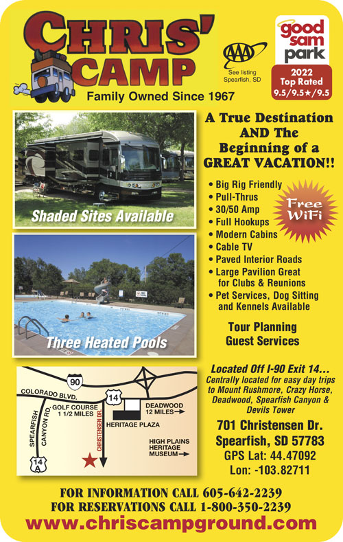 Rv Parks In South Dakota South Dakota Campgrounds Good