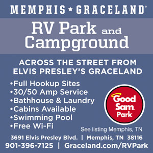 Memphis Tennessee Rv Parks Memphis Campgrounds Rv