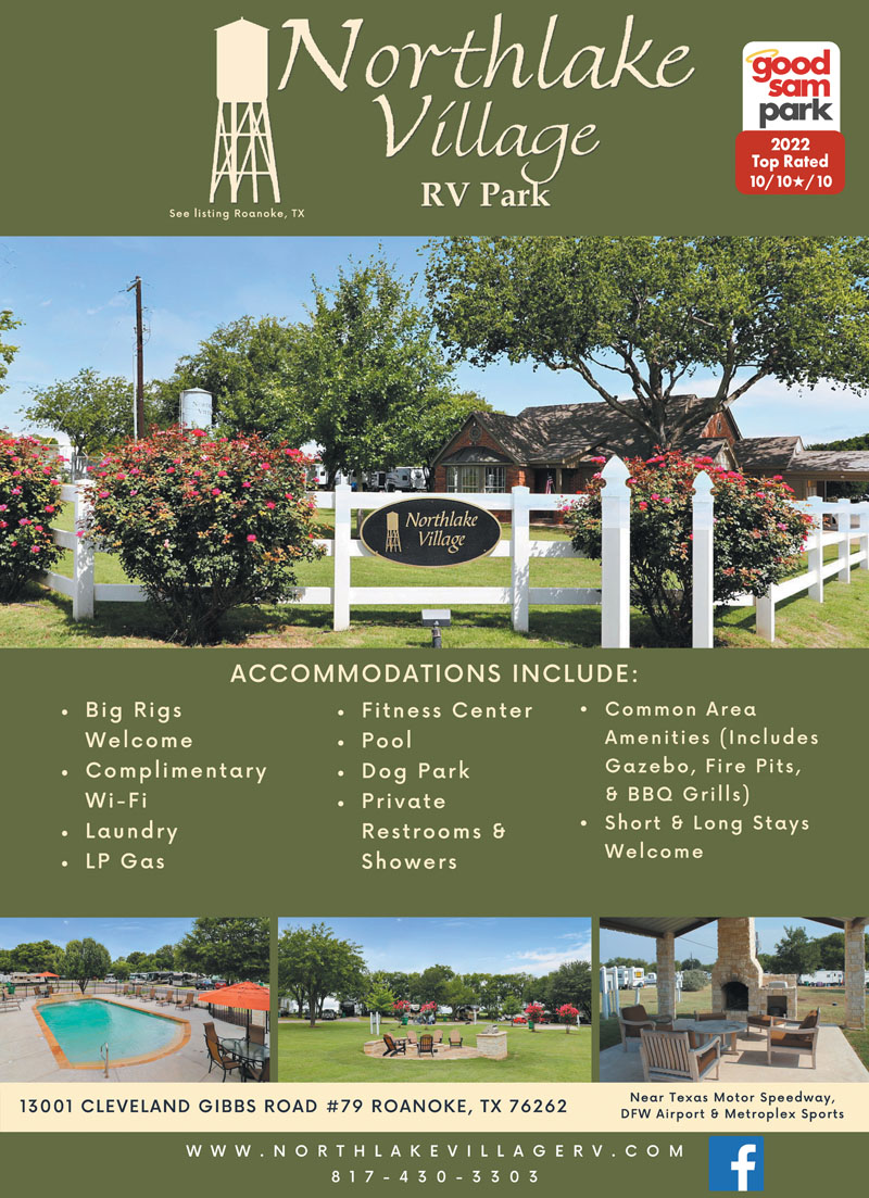 Beautiful Sites With Paved Patios And Easy Access Close To All That DFW Has Offer Only 3 Minutes Texas Motor Speedway 15