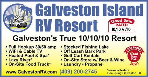 Rv Parks In Galveston Texas Galveston Texas Campgrounds