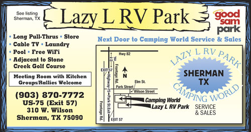 Lazy L RV Park Sherman TX