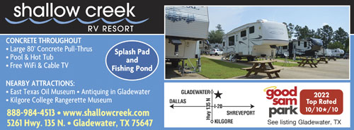 EAST TEXAS PINEY WOODS BEST In The Longview Area And Gladewaters Antique District Enjoy Golf Course Next Door Or Our Pool Splashpad