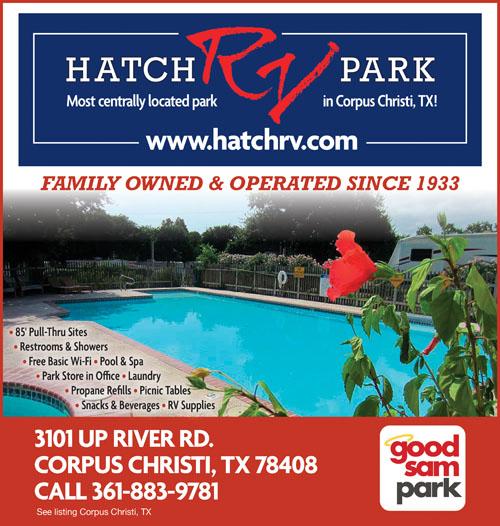 Hatch RV Park Corpus Christi TX