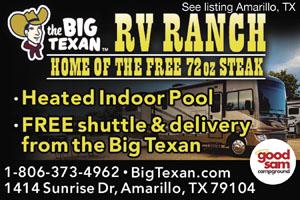 Amarillo Ranch Rv Park Amarillo Campgrounds Good Sam Club