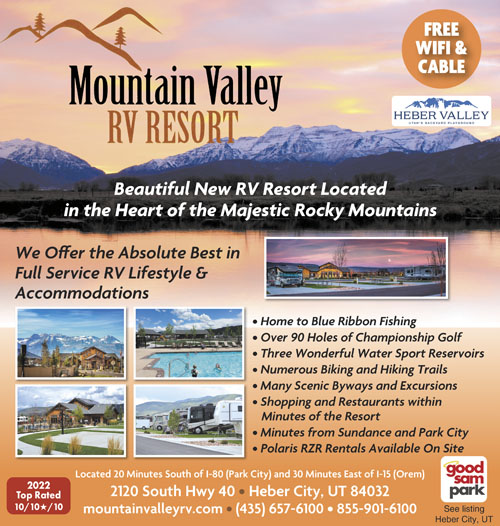 Heber City Utah RV Parks - Heber City Campgrounds - RV Camping in