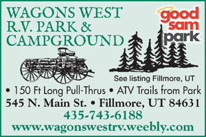 Rv Parks In Fillmore Utah Fillmore Utah Campgrounds