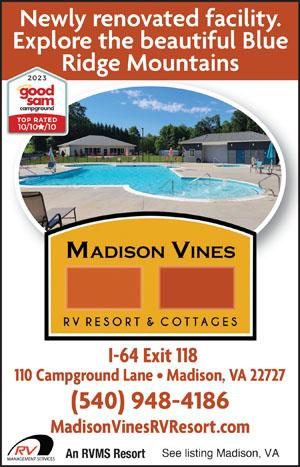 Rv Parks In Elkton Virginia Elkton Virginia Campgrounds