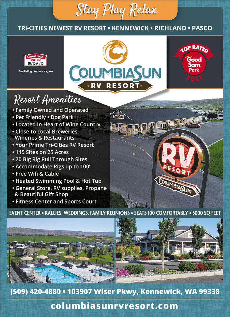 THE TRI CITIES 10 RV RESORT Newest Resort In Wine Country Family Operated Designed For Big Rigs Recreation Events All Ages Event Center